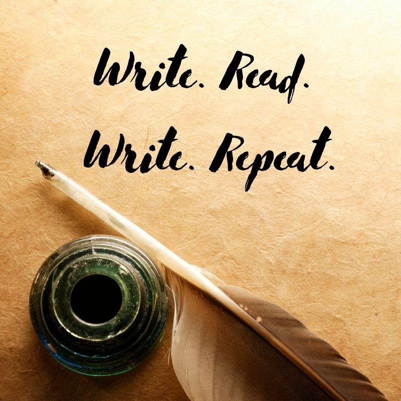 Write. Read. Write. Repeat.