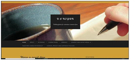 D A Nelson Author