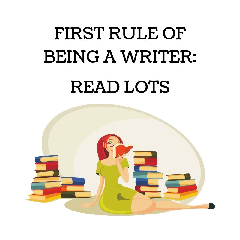 FIRST RULE OF BEING A WRITER_